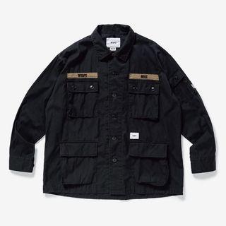 (WTB) Wtaps SS19 Jungle Shirt Black