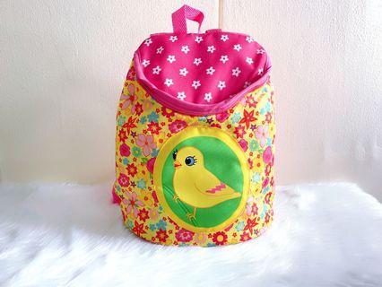 Backpack preschooler