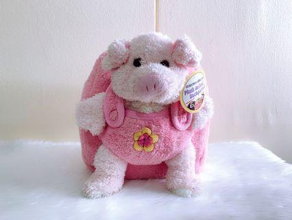 Plush toy backpack