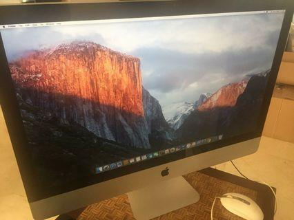 Imac late 2009 27 inch core i5 hdd 500gb