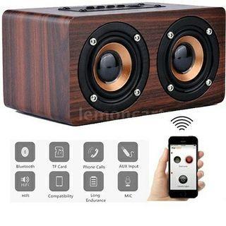 Desktop bluetooth speaker stereo w5 - portable speaker