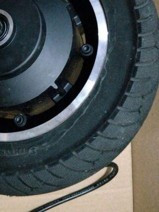 Solid 10 inch escooter tire FHtyre