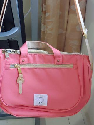 Anello orange sling bag