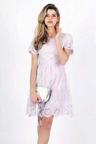 Penny crochet dress