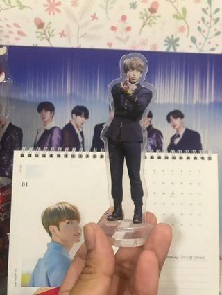 BTS Jungkook standee (fansite exhibition)