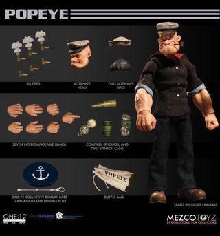 [In hand] Mezco One:12 Popeye
