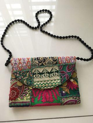 Handmade bag from India