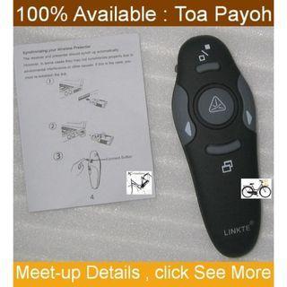 Wireless Presenter (for PPT presentation) with laser pointer