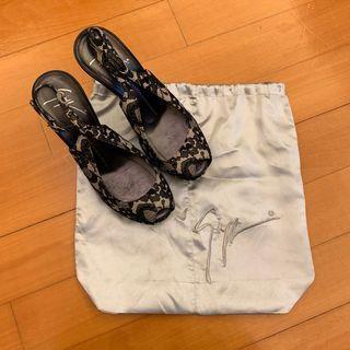 Guiseppe Zanotti Design Lace Heels 37