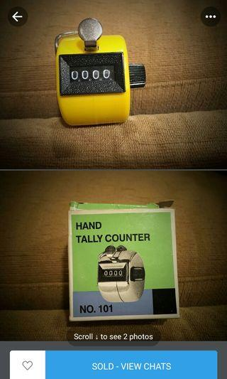 Hand tally counter 2