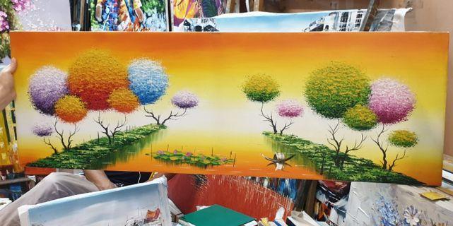 Oil Painting from Hanoi Vietnam