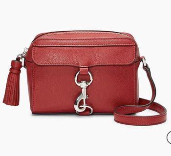 Authentic Rebecca Minkoff MAB Camera Bag Scarlet