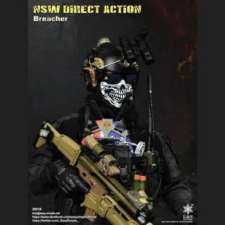NSW Direct Action Breacher - Easy & Simple 26018 1/6 Figure