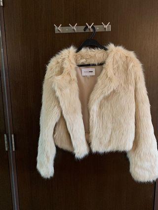 Brand new Super extra fur coat from fashion nova