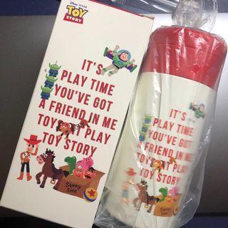 全新 包順豐 東京迪士尼 反斗奇兵 暖水壺 Disney Toy Story water bottle 水樽