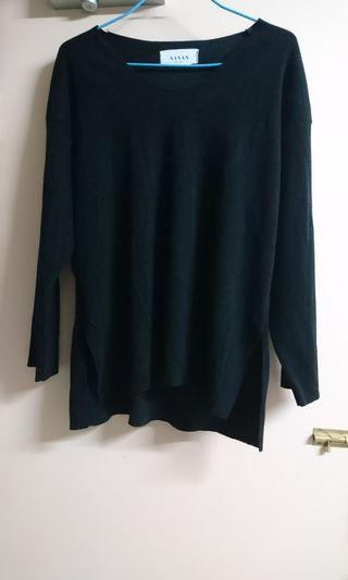 黑色上衣 韓國製造