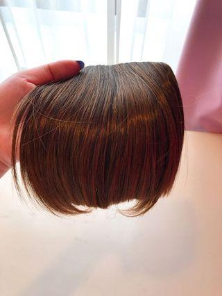 Front hair wig