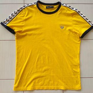 Fred Perry Side Tape Mustard Yellow