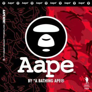 Aape 2019夏季扯布迷彩褲 首重商品後 最優惠出价無變HK$170-200
