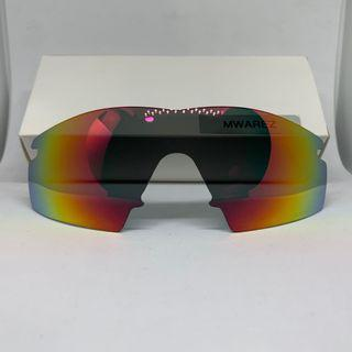 M Frame Strike Ruby Red POLARIZED Dym Replacement Lense For Oakley M Frame Sunglass
