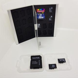 🚚 買大送小!!記憶卡SD Micro收納盒