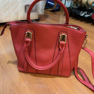 Red Hand & Sling Bag