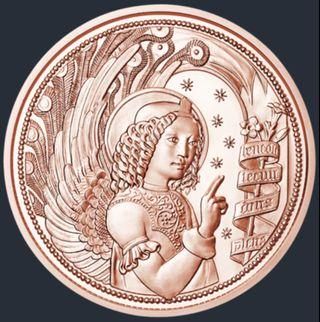 Austria 10 Euro Copper Coin