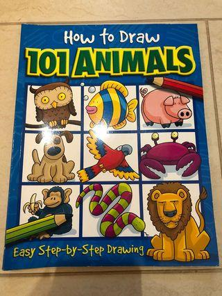 How to draw 101 animals - easy step-by-step drawing #ENDGAMEyourEXCESS