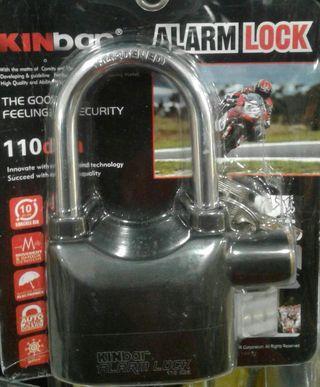 Original Alarm Pad Lock Super Loud