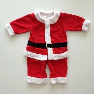 Christmas Santa Suit 80cm