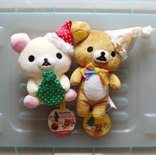 鬆弛熊&白熊公仔