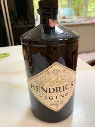 Bottle empty