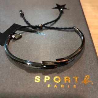 🚚 Sport b. Anges b.金屬閃電麻繩手鍊