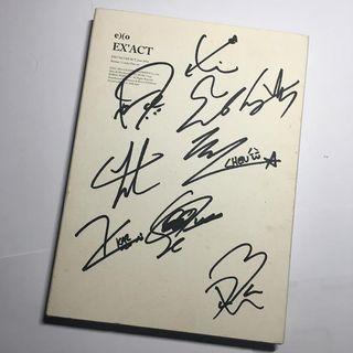 Exo Exact Signature Album