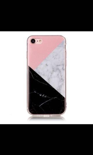 iPhone Case - Block marble