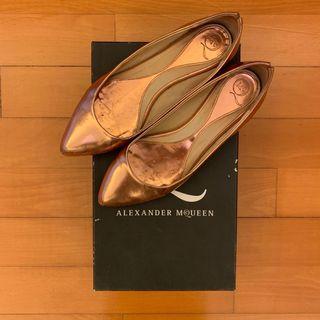 MCQ Alexander Mcqueen Copper Flats Size 37
