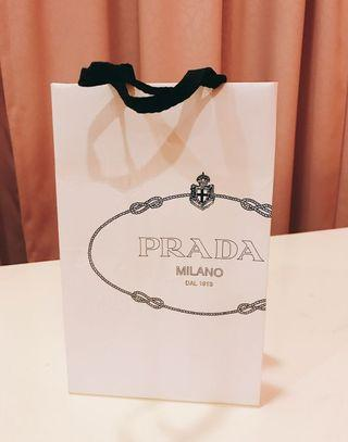 🚚 Prada Paper bag