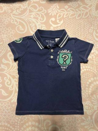Authentic Guess Baby Boys Short Sleeve Polo Shirt