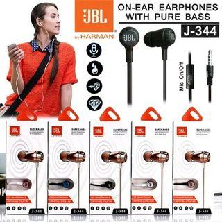 HANDSFREE SUPER BASS JBL J-344 BY HARMAN MIC