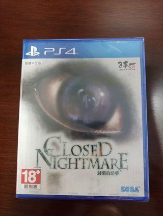 PS4 Closed Nightmare