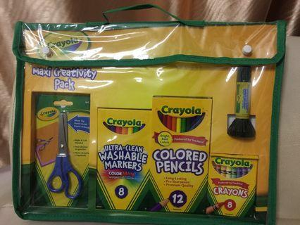 Crayola creativity pack