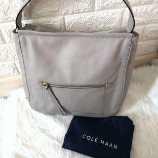 Cole Haan Gray Hobo Bag