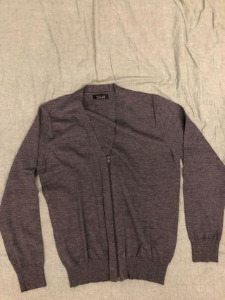 Zara zip up cardigan