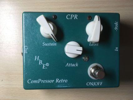 Homebrew Electronics HBE CPR Compressor Retro Pedal effect 壓縮效果器