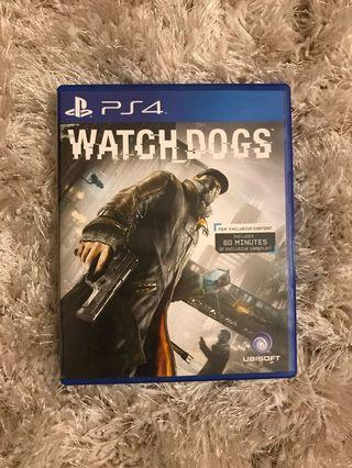 90% New - PS4 Game Watch dogs / Watchdogs
