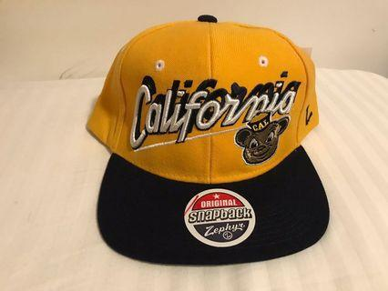 100% New - California Golden Bear Cap 🧢 NCAA Basketballs / 帽 / Hat