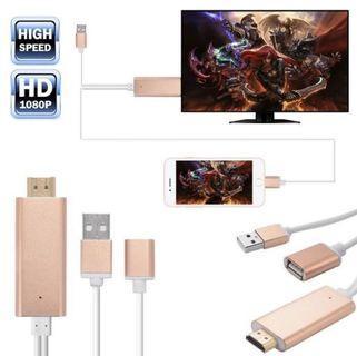 Apple lightning to HDMI HDTV AV cable adapter