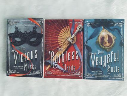 TPB SET: These Vicious Masks Trilogy by Tarun Shanker