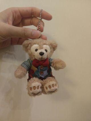 Disney Valentine's Day Duffy keychain 迪士尼 情人節版 達菲熊 公仔掛飾