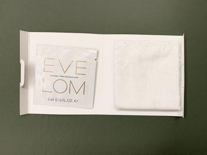 EVE LOM 缷妝潔面霜 + 潔面布